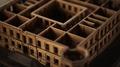 Web, Rustkammaren. Detalj, modell över Skoklosters slott - Skoklosters slott - 88033.tif