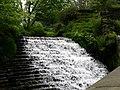 Weir near Hugh Mill, Waterfoot, Lancashire, 2007 - geograph.org.uk - 442213.jpg