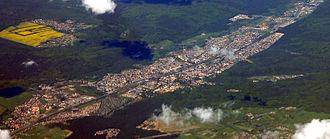 Wejherowo - City from a bird's eye view
