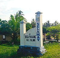 Welcome Gate to Pahang, Talawi, Batu Bara.jpg