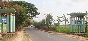 Birampur Upazila - Skyline of Birampur, Bangladesh