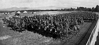 Wellington Mounted Rifles Regiment - Image: Wellington Mounted Rifles 1914