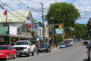 Wellington, Ontario - Main street of Wellington