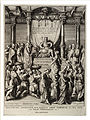 Wenceslas Hollar - Solomon and the Queen of Sheba (State 3).jpg