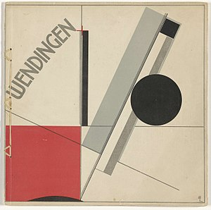Wendingen - Wendingen 1921-11, 1st of 8 F.L.Wright issues (cover El Lissitzky)