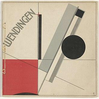 Wendingen - Wendingen 1921-11, 1st of 8 F.L.Wright issues (cover El Lissitzky)