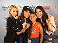 Wengie, Natalie's Outlet, Daniella slime gymnast, Karina Garcia at Create Your Summer Tour.jpg