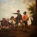Wenzel Ignaz Brasch - French countrymen on a journey through the land.jpg