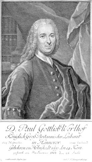 Helmstedt - Paul Gottlieb Werlhof 1742