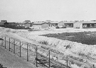 Westerbork transit camp - Barracks at Westerbork after liberation
