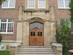 Western Canada High School, Main Entrance.jpg
