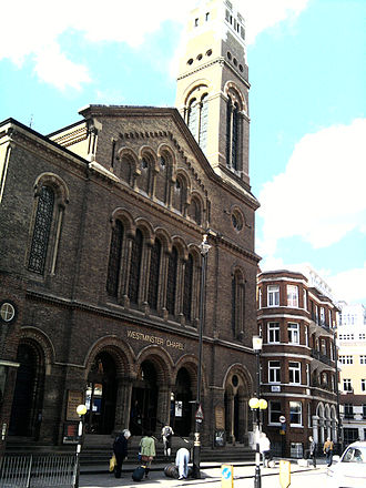 Martyn Lloyd-Jones - Westminster Chapel as of 2009