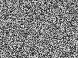"""White noise - A """"white noise"""" image"""