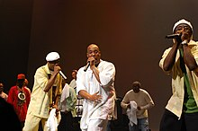 Whodini performing at Fresh Fest in 2009