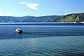 Widok z Listwianki na jezioro Bajkał 08.JPG