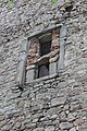 Wieża mieszkalna, ob. bud. gosp. przy dworze nr 72, XV, 1897, 1935 (17).JPG