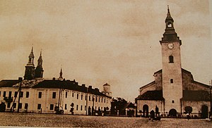 Wieluń - Old Town in 1910