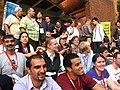 Wikimania 2007 Wikimaniacs group photo.jpg