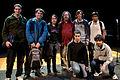 Wikimania 2009 - Richard Stallman en el teatro Alvear con asistentes (19).jpg