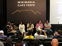 Wikimania 2018 - Africa's Wikipedias 1.jpg