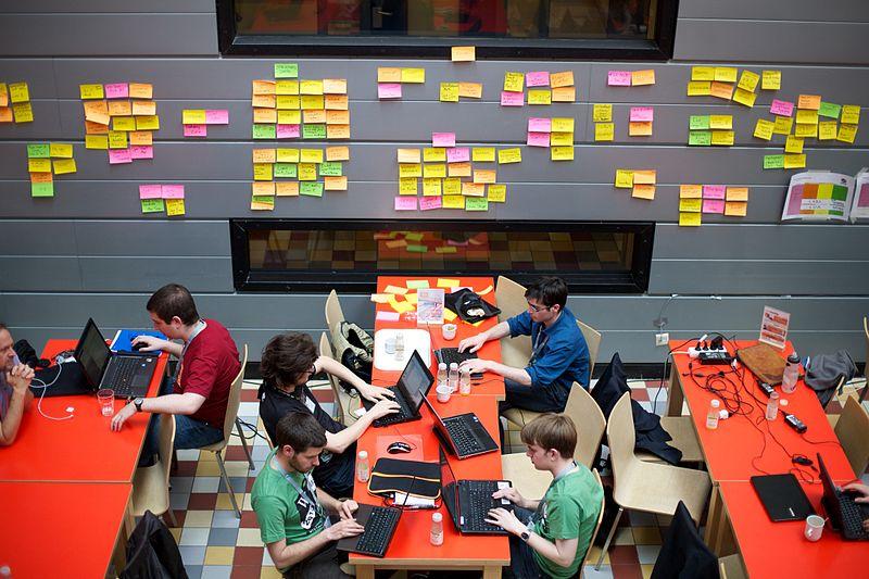 Fichier:Wikimedia Hackathon 2013, Amsterdam - Flickr - Sebastiaan ter Burg (28).jpg