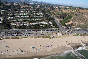 Will Rogers State Beach - Image: Will Rogers State Beach 1