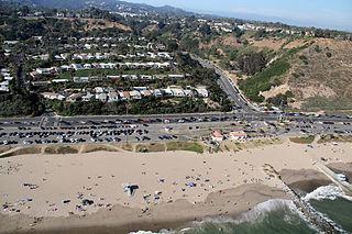 Will Rogers State Beach Beach park on Santa Monica Bay, California, US