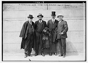 Henry Harvey Vivian - Image: William Bailey Howland, Henry Harvey Vivian, George William Burleigh, and John Aikman Stewart