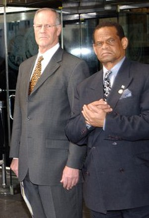 Bill Graham (Canadian politician) - Graham (left) and Saint Lucia foreign minister, Julian Hunte (right)