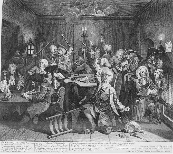 File:William Hogarth - A Rake's Progress, Plate 6, Scene in a Gaming House - Google Art Project.jpg
