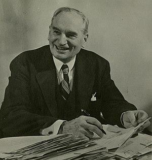United States Senate election in North Dakota, 1952 - Image: William Langer