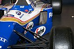 Williams FW16B sidepod intake 2017 Williams Conference Centre.jpg