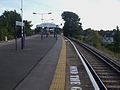 Wimbledon Chase stn look south.JPG