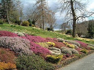 Holehird Gardens - Image: Windermere geograph.org.uk 17845
