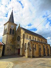 Woimbey L'église Saint-Rémi.JPG