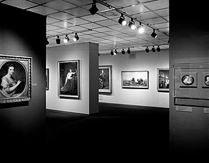 Women Artists: 1550-1950 - Image: Women Artists 1550 1950, Installed at the Brooklyn Museum October 1, 1977 through November 27, 1977 04