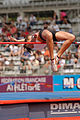 Women high jump French Athletics Championships 2013 t151015.jpg
