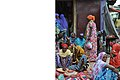 Women in an ethiopian market in Harar wearing colorful clothe taken by Carine Arif.jpg