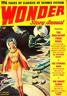 <i>Wonder Story Annual</i> US pulp science fiction magazine
