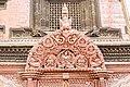 Wooden Tympanum at Entrance of Kumari House- Basantapur, Kathmandu Nepal-0116.jpg