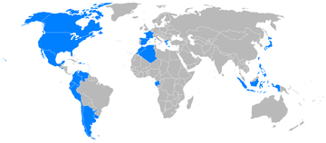 World operators of the T-34 Mentor