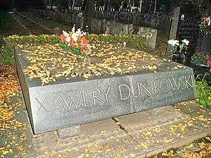Xawery Dunikowski - Tomb of Xawery Dunikowski in Warsaw