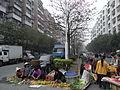Xinhui 新會 同德3路 Tongde 3LU open market near 中心南路 Zhongxin Nanlu 01.JPG