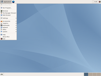 Xubuntu - Xubuntu 6.06 LTS Dapper Drake, the first official Xubuntu release