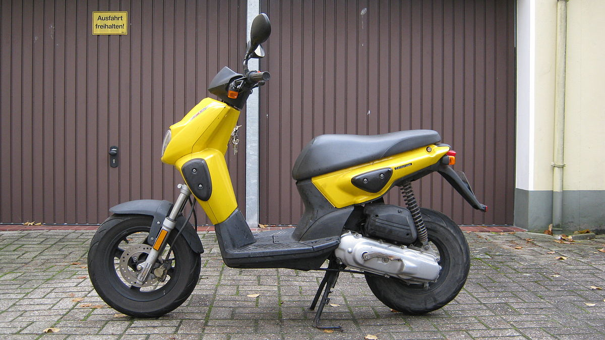 Permalink to Yamaha Sport Scooter