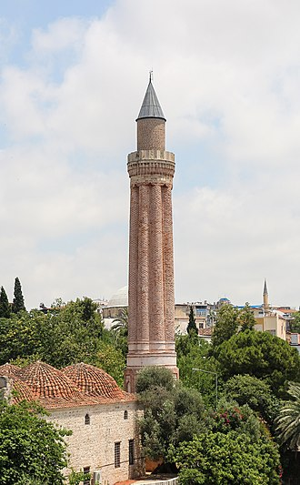 Kayqubad I - The Yivli Minare Mosque, built in Antalya by Kayqubad I.