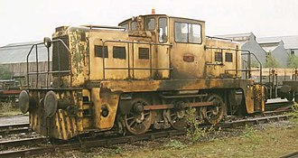 Yorkshire Engine Company - Typical Janus locomotive at a steelworks