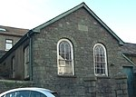 Ysgoldy Ebenezer attached to left of Ebenezer Welsh Independent Chapel