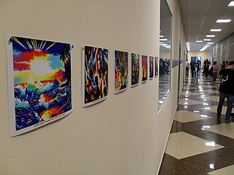 Chaos Constructions - Image: ZX Spectrum prints at Chaos Constructions 2018