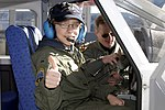 Zachery Olson gets acquainted with Civil Air Patrol aircraft in Colorado.jpg